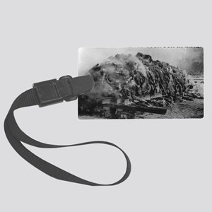 deeply ashamed of iraq Large Luggage Tag