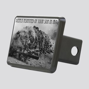 deeply ashamed of iraq Rectangular Hitch Cover