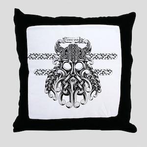 gallowglassblack Throw Pillow