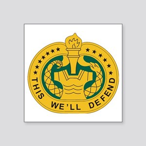 "big Drill_Sergeant Square Sticker 3"" x 3"""