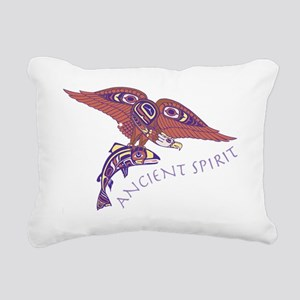 207t AncntSpirit Eagle Rectangular Canvas Pillow