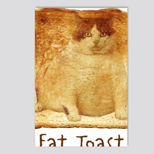 2-FatToastFront Postcards (Package of 8)