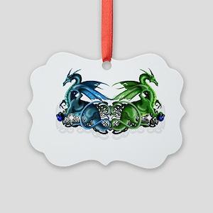 Noahs Dragons Picture Ornament