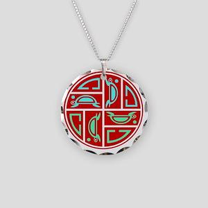 SEA TURTLE CIRLE OF LIFE LOG Necklace Circle Charm