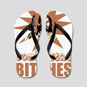 COMOESTAS_BITCHES Flip Flops