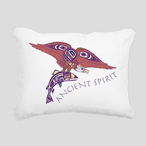 209nc AncntSpirit Eagle Rectangular Canvas Pillow