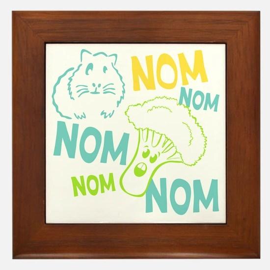 NomNom Framed Tile