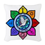 LGLG-All Religions Woven Throw Pillow