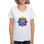LGLG-All Religions Women's V-Neck T-Shirt