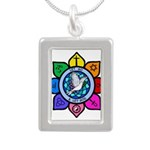 LGLG-All Religions Silver Portrait Necklace