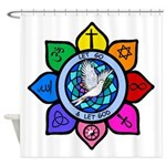 LGLG-All Religions Shower Curtain