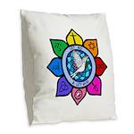 LGLG-All Religions Burlap Throw Pillow