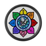 LGLG-All Religions Large Wall Clock