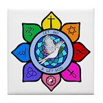 LGLG-All Religions Tile Coaster