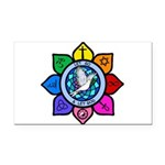 LGLG-All Religions Rectangle Car Magnet