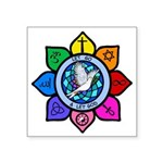 LGLG-All Religions Square Sticker 3