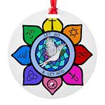 LGLG-All Religions Round Ornament