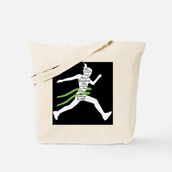 Running Poster Tote Bag