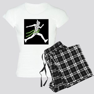 Running Poster Women's Light Pajamas