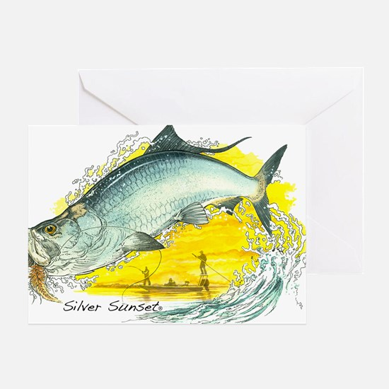2-SF-006Silver Greeting Card