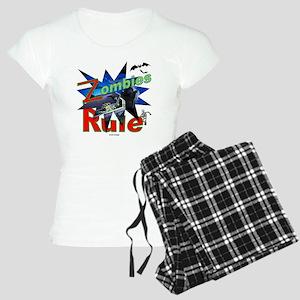 Zombies Rule Women's Light Pajamas