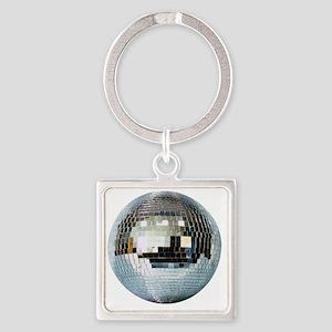 DISCO BALL2 Square Keychain