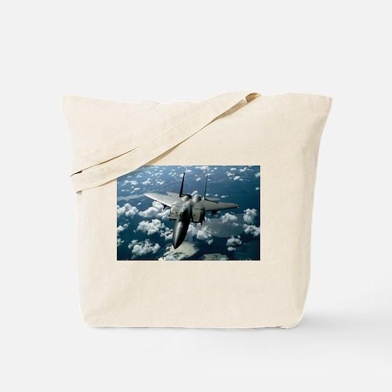 F-15 E Strike Eagle Tote Bag