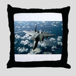 F-15 E Strike Eagle Throw Pillow