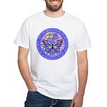 LGLG-Butterfly (purp) White T-Shirt