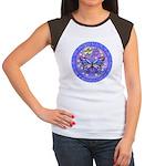LGLG-Butterfly (purp) Women's Cap Sleeve T-Shirt