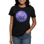 LGLG-Butterfly (purp) Women's Dark T-Shirt
