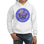LGLG-Butterfly (purp) Hooded Sweatshirt
