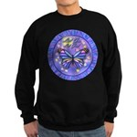 LGLG-Butterfly (purp) Sweatshirt (dark)