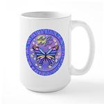 LGLG-Butterfly (purp) Large Mug