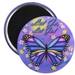 LGLG-Butterfly (purp) Magnet