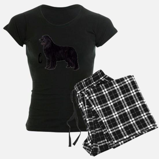 Newfie Life Shirt trans blac Pajamas