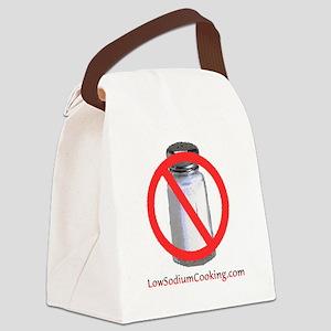TransparentTShirtBack Canvas Lunch Bag