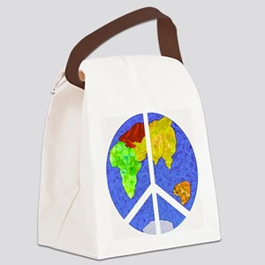peaceworldornament Canvas Lunch Bag