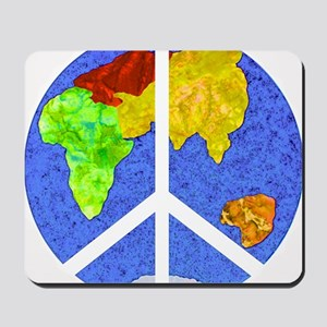 peaceworldornament Mousepad
