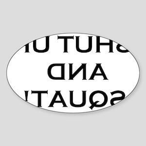 BODYBUILDING 2 Sticker (Oval)