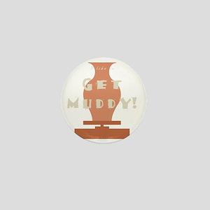 burntmud-d-muddy Mini Button