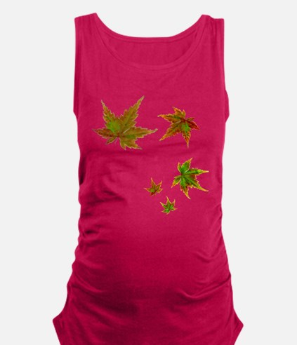 maple_leaves_tee.png Maternity Tank Top