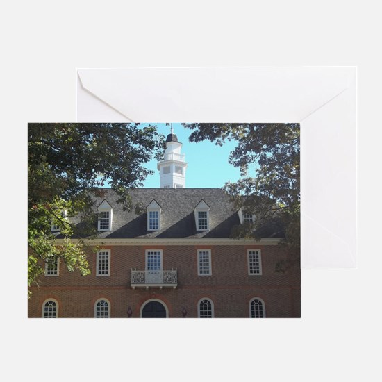 Colonial Capital Williamsburg VA Greeting Card