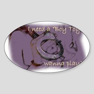NewBTforHer Sticker (Oval)
