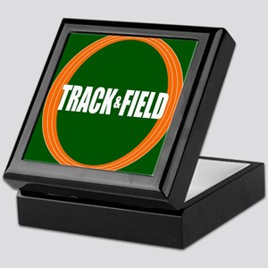 Track and Field Keepsake Box