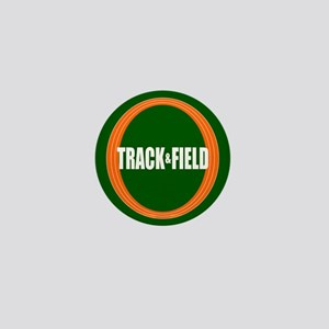 Track and Field Mini Button