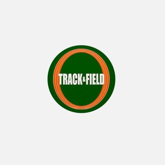 Track and Field Mini Button