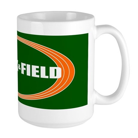 Track and Field Large Mug