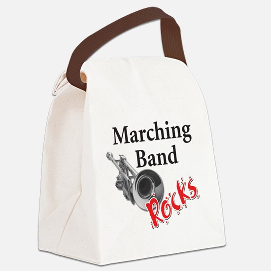 mband_trumpet Canvas Lunch Bag