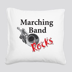 mband_trumpet Square Canvas Pillow